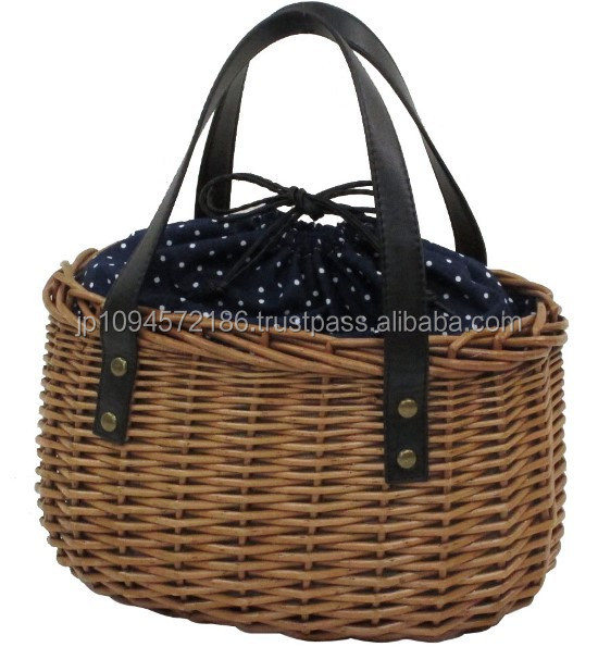 Handmade Basket Companies : Handmade basket lady bag woven with natural materials for