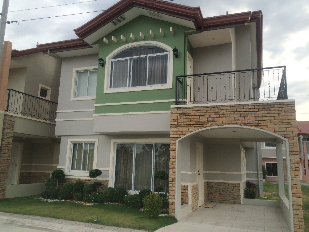 House and lot for sale pampanga la tierra solana aster for 2 houses on one lot for sale