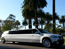 SUV Limo: 2007 White 180-inch BMW X5 Limo for sale #1806