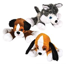 "21"" DAWGIE DOG MIX PLUSH"