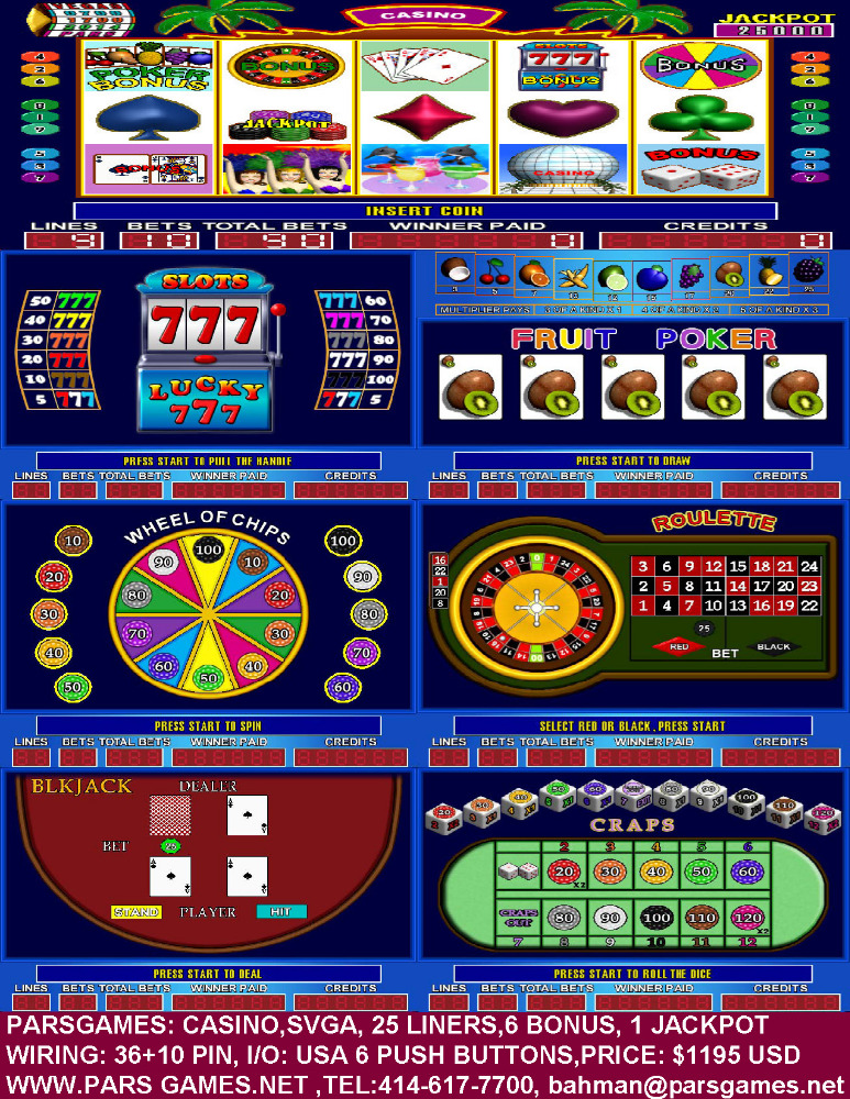 video slots online casino games