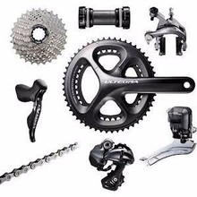 Shimano Ultegra 6870 Di2 Groupset without Power Kit One Color, 172.5, 50-34, braz, 11-32