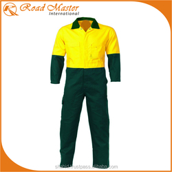 2 Tone Poly Cotton Coveralls Fine Quality Best For Workwear