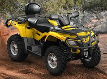 For Japanese 2015 Can-Am Outlander MAX 400 H.O. EFI XT ATV New