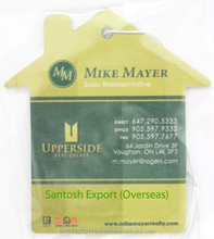 paperboard promotional Air Fresheners