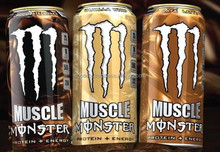 Lo-carb Monster Energy Drinks