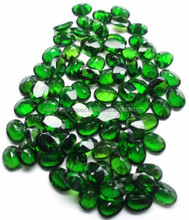 Natural Chrome Diopside 7x9mm Oval Cut Loose Gemstone