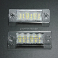 12V 18LED License Number Plate Light Lamp For VW Caddy Transporter Passat Golf Touran Jetta For Skoda No Error