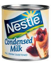 100% tam yağlı tatlandırılmış yoğunlaştırılmış süt