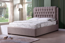Hot sales Modern Tufted Upholstery Bed, Fabric Leather bed, bedroom furniture, Double, Queen, King size bed