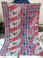 kantha quilts wholesale /kantha quilts handmade from saris/ vintage sari kantha quilts