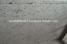 Coloniale pavimenti in piastrelle bianche lastre di granito in levigato fiammato spazzolato finiti in pelle