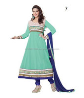 New Anarkali Designs Anarkali Churidar Suits