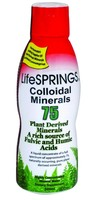 LifeSPRINGS Colloidal Plant Derived Minerals 75