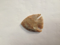 Fish Shaped Fancy Arrowhead Indian Agate Arrowhead: Native American Arrowhead