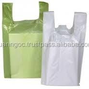 Beautiful full color printing art paper shopping bag / promotional kraft paper bag /hot sell T-shirt plastic bag for supermart