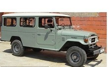 Toyota Land Cruiser BJ 45 4X4 Off Road Vehicle -Left Hand Drive - Stock no: 11707