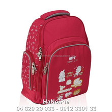 Lightweight polyester backpack for laptop