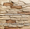 Artificial stone ledge stone walling tiles 500x100x30 mm
