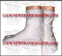 White Indoor Long Tabi Shoes FM-442-b-1