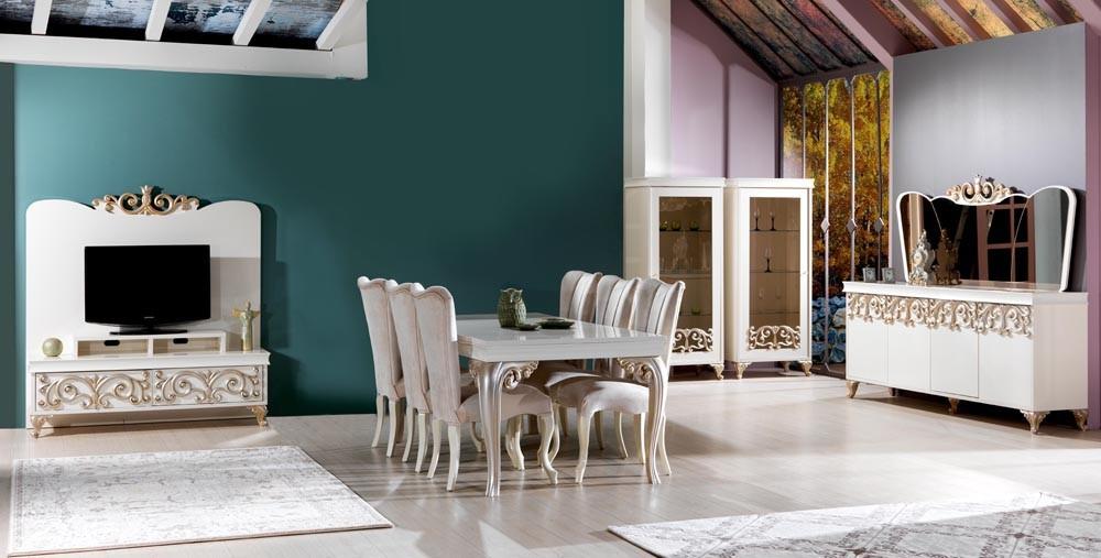 Flora Diningroom Set Buy Turkish Furniture Table And