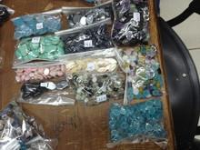 Druzy gemstone to jewelry from Brazil hi quality