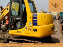 used komatsu PC 60 excavator for sale in china, japan made good condition