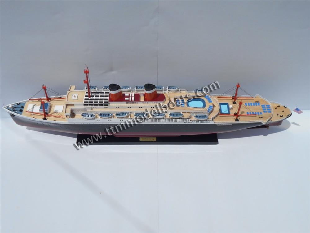 Ss constitución de madera modelo de nave de crucero ( revestimiento ...