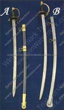 Medieval Steel Sword with blunt edges.