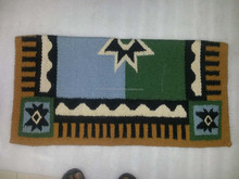 Newzeland Wool Western horse Saddle Blanket