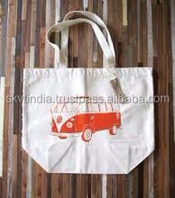calico organic cotton bag muslin organic cotton bag
