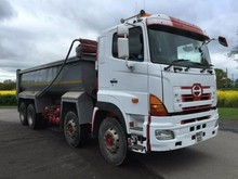 Used Hino 700 8x4 Tipper - Right Hand Drive - Stock no: 12049