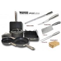 Non stick cookware complete kitchen set wholesale buy for Kitchen set non stick