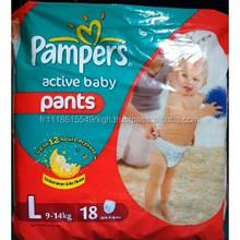 Calidad suave S & P pampering del pañal del bebé