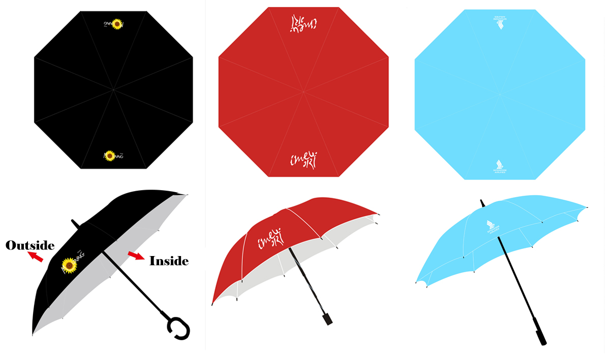 cheap golf rain designer umbrellas for sale