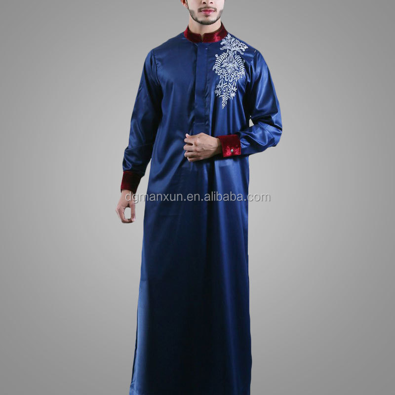 modern islamic clothing embroidered mens thobe (2).jpg